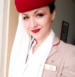 Буковинка стала стюардесою в одній з найпрестижніших авіакомпаній світу