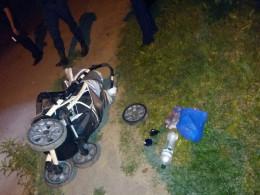 У Чернівцях водій збив жінку з немовлям і втік з місця ДТП (фо