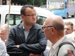 Депутати міськради спробують усунити Каспрука і призначити секретарем Максимюка