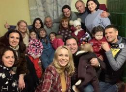 Відома телеведуча з Чернівців Лілія Ребрик відсвяткувала Різдво на Буковині