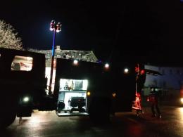 У новорічну ніч в Кіцмані горів житловий будинок (фото)