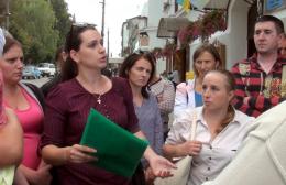 На Буковині батьки школярів вимагали у місцевої влади надати для села шкільний автобус (відео)