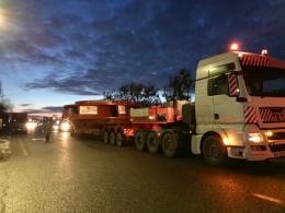 До Новодністровська привезли робоче колесо гідроагрегату №4 Дністровської ГАЕС