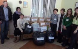 В райцентрі на Буковині зібрали гуманітарну допомогу для Авдіївки