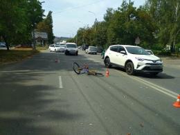 У Чернівцях водій «Опеля» збив 10-річного велосипедиста