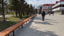 На Буковині встановили найдовшу в області лавицю