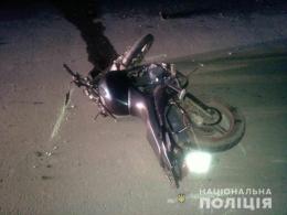 На Буковині 19-річний юнак перекинувся на мотоциклі