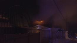 У Чернівцях горів ринок на вулиці Удонова
