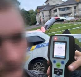 На Буковині за добу поліція виявила 11 п'яних водіїв