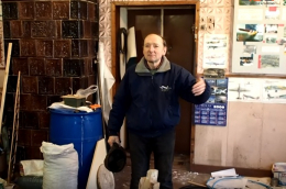 Чернівчанин створив дерев`яного літака (відео)