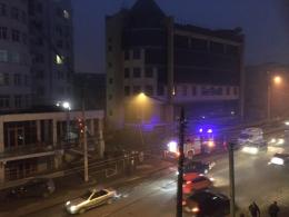 У новобудові в Чернівцях спалахнула пожежа