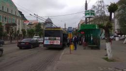 Через страйк перевізників на вулицях Чернівців побільшало тролейбусів