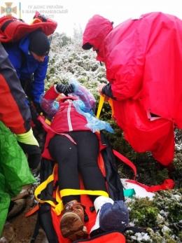 Туристка з Чернівців травмувалась під час спуску з Говерли