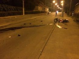 Справу загибелі влітку мотоцикліста, який втікав від поліцейських, досі розслідують