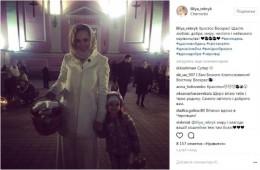 Відома ведуча Лілія Ребрик відсвяткувала Великдень у Чернівцях