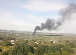 Рятувальники розповіли про пожежу поблизу Чернівців (відео)