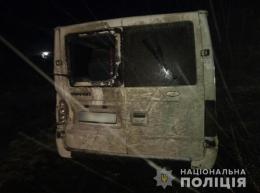На Буковині «FORD Transit» з'їхав у кювет, 29-річного пасажира госпіталізовано (фото)