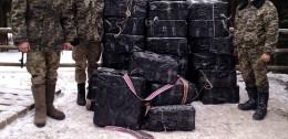 Прикордонники на Буковині зупинили партію контрабандного курива