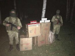 На Буковині контрабандисти втекли, покинувши сигарет на 200 тисяч (фото)