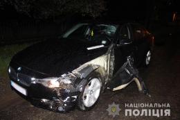 На Буковині БМВ збив на смерть велосипедиста (фото)