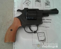 У 41-річного жителя села Дорошівці вилучили два револьвери іноземного виробництва