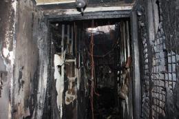 У Чернівцях через замкнення проводки згорів офіс