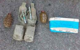 Чернівчанина, який возив з собою гранати та патрони, затримали на Херсонщині