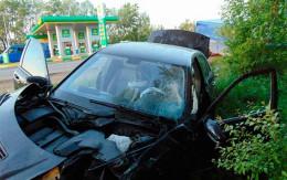 """На Буковині """"Мерседес"""" зіткнувся з мікроавтобусом, постраждала жінка"""
