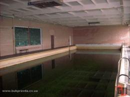 Басейн школи №27 у Чернівцях