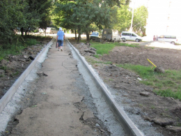 На Гравітоні, на місці занедбаної території, з'явиться сучасна відпочинкова зона (фото)