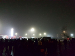 """Пікет """"євробляхерів""""на Порубному завершився, мітингувальники роз'їхались"""