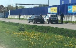 Біля «Епіцентру» у Чернівцях авто патрульних потрапило в ДТП