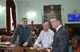 Ярослав Петришин під час перерви на сесії