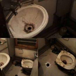 У мережі з'явилися жахливі фото потягу Київ - Чернівці