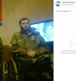 Російський бойовик, який топтав український прапор на Донбасі, залишився без ніг