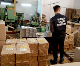 У Чернівцях викрили підпільний цех з виробництва цигарок