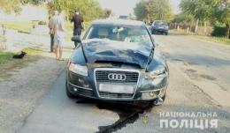 На Буковині легковик наїхав на худобу, постраждала пасажирка