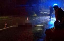 На Буковині автомобіль збив на смерть людину