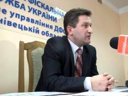 Михайло Сеничак поновився на посаді головного фіскала Буковини