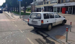 У Чернівцях на проспекті Незалежності сталась потрійна ДТП (фото)