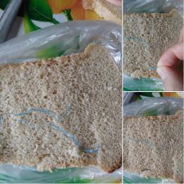 У Чернівцях жінка знайшла шматки поліетилену в буханці хліба