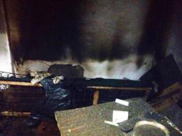 На Буковині в Остриці під час пожежі загинув пенсіонер
