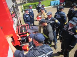 На Буковині рятувальники отримали новий пожежно-рятувальний автомобіль МАЗ