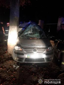 У нічній аварії в Чернівцях загинув пасажир іномарки