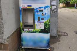 У Чернівцях затримали чоловіка, який неодноразово обкрадав автомати з водою