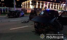 У Чернівцях на Воробкевича зіткнулися «Volkswagen» і «Opel» (фото)