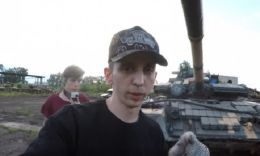 Поліція відкрила кримінальне провадження проти блогерів, які влізли на танковий склад