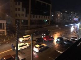 Потрійна ДТП на Героїв Майдану