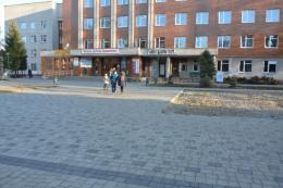 Біля поліклініки на проспекті Незалежності встановлять дитячий майданчик (фото)
