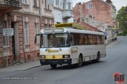 У Чернівцях тролейбуси курсуватимуть до центру Садгори